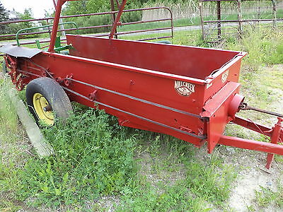 MILL CREEK  SMALL MANURE SPREADER great for kubota tractors    pto. drive