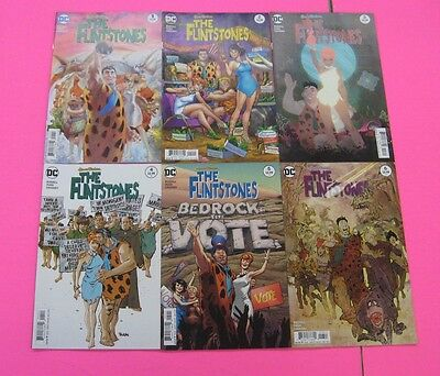 THE FLINTSTONES # 1,2,3,4,5,6,7,8,9,10  Comic DC 2017