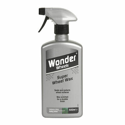 Wonder Wheels WWX505 Super Wheel Wax 500ml Sealant Protection Car Care