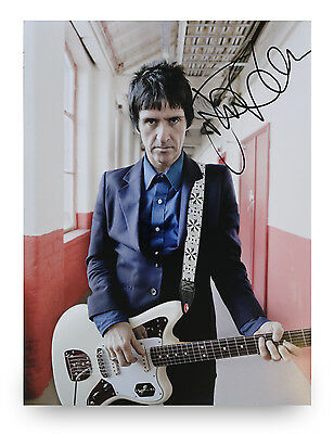 Johnny Marr Signed 16x12 Photo The Smiths Music Autograph Memorabilia + COA