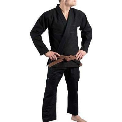 "Scramble ""Standard Issue – Semi Custom"" Kimono – Black Edition Bjj / Mma"