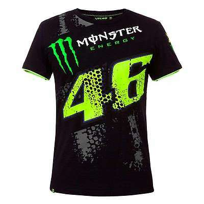 Tee-shirt homme VR46 ROSSI REPLICA MONSTER DTBC   NEUF