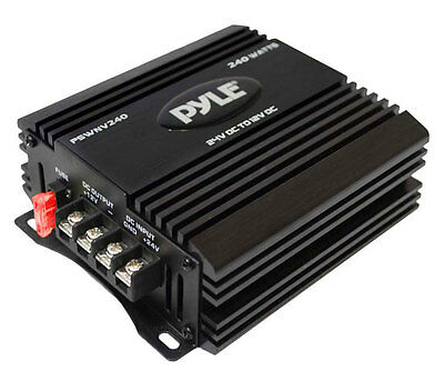 Pyle PSWNV240 24v to 12v Step down Voltage Convertor Converter Dropper