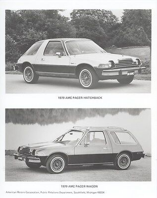 1979 AMC Pacer Hatchback & Pacer Wagon ORIGINAL Factory Photo oub4904