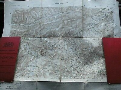 Draperstown,glenell,ballinderry Rivers-Tyrone,londonderry Ireland,antique Os Map