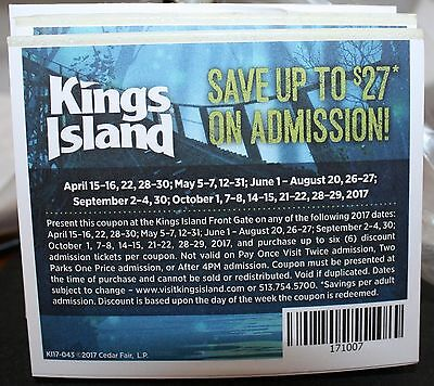 Save Up To $27.00 Off Admission - King's Island Amusement Park  - Ohio