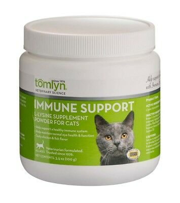 Tomlyn L-Lysine Powder Supplement Healthy Immune System Maintain Normal 100 mg
