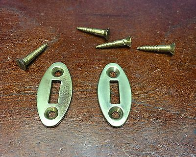 T/C Thompson Center Renegade Or Hawken 2 Wedge Plates Guides & Screws Brass Part