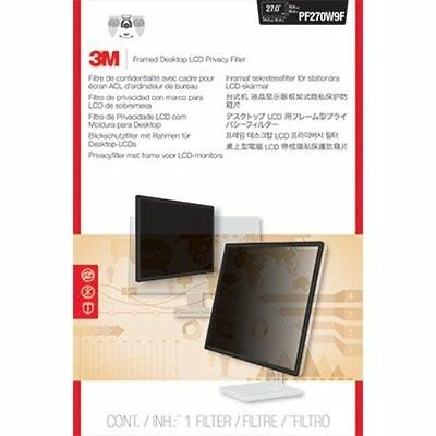 "3M PF270W9FPrivacy Screen Filter Black, Transparent-For 27""LCD Notebook, Monitor"