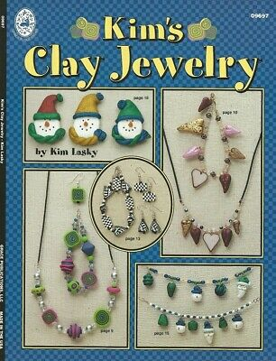 KIM'S CLAY JEWELRY-Polymer/Fimo/Sculpey/Bead Craft Idea Book