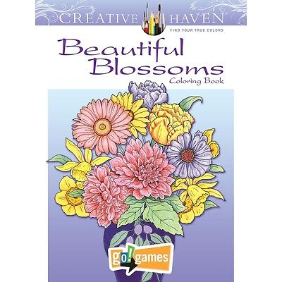 Beautiful Blossoms Coloring Book