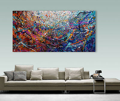"XXL 60""  Abstract Painting  Home decor Wall Art Wall Decorl Original Modern #172"