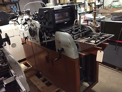 "Multigraphics 2 Color Offset Printing Press 8.5"" X 11"" Model 1250RS/MRP (J Lot)"