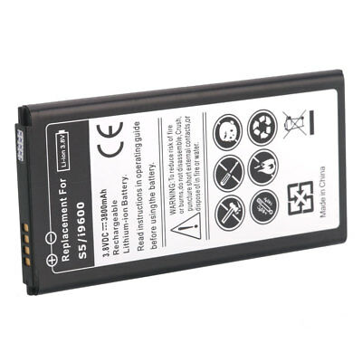 Replacement 2800mAh Extended Battery for Samsung Galaxy S5 i9600