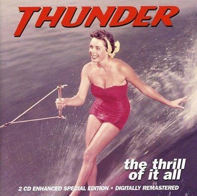 Thunder - The Thrill Of It All (NEW 2CD)