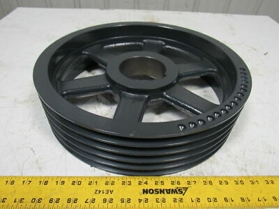 """Browning 5B160R 5 Groove 16"""" Sheave Pulley Cast Iron Size A or B Groves"""