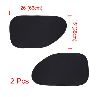 Static Electric Babycare Car Cling Sun Shade (2 Pack) for Blocks 97% of UV Ray
