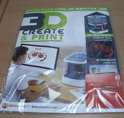 Build a 3D Printer magazine Partwork: Create & Print Vector 3: Issue #105