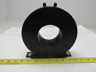 "Inductotherm 163-0006-3 50VA Current Transformer 800/5 Ratio 3-1/8"" Dia."