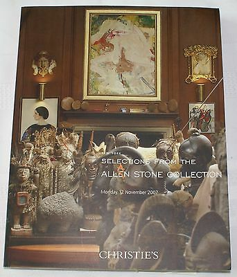 Christie's Auction Catalog of Allan Stone Collection, 12 November 2007