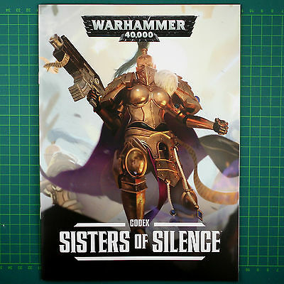 24-seitiges Regelbuch Codex Sisters of Silence Warhammer 40K