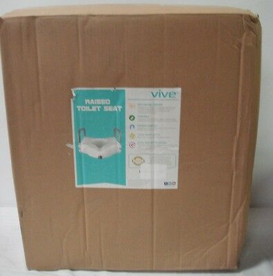 Surprising Vive Raised Toilet Seat 5 Portable Elevated Riser With Pdpeps Interior Chair Design Pdpepsorg