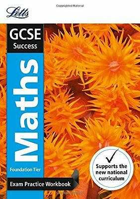 GCSE Maths Foundation Exam Practice Workbook, with Practice Test Paper (Letts GC