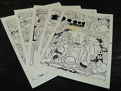 Original Art Story (Archie 420) 5 Pages COMPLETE! STAN GOLDBERG 1994 ART#415