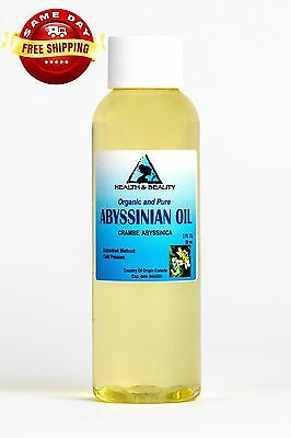 Abyssinian / Crambe Seed Oil Organic Carrier Cold Pressed Fresh 100% Pure 2 Oz
