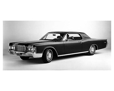 1969 Lincoln Continental Coupe ORIGINAL Factory Photo oub5257