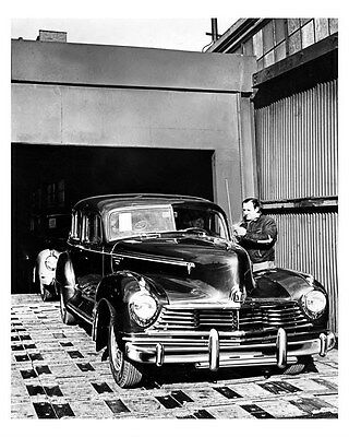 1947 Hudson ORIGINAL Linen-Backed Factory Photo oub5351