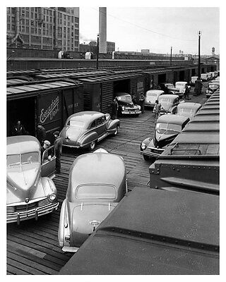 1946 Hudson ORIGINAL Linen-Backed Factory Photo oub5361