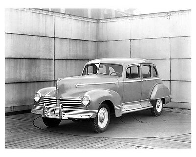 1942 Hudson Super Six Model 21 ORIGINAL Linen-Backed Factory Photo oub5369