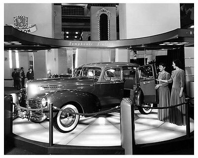 1941 Hudson Commodore Eight ORIGINAL Factory Photo oub5377