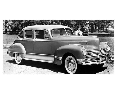 1942 Hudson Commodore 8 Custom ORIGINAL Linen-Backed Factory Photo oub5370
