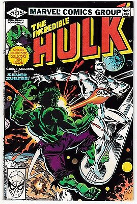 INCREDIBLE HULK #250 (NM-) SILVER SURFER Appearance! 1980 Double-Sized Special