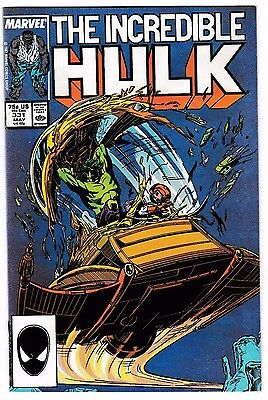 INCREDIBLE HULK #331 (NM-) Todd McFarlane Art! 1st Peter David on Plot! LQQK