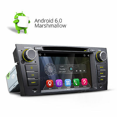 "NEW! 7"" Android 6.0 Car DVD Player Stereo Radio for BMW E90-E93 Bluetooth/WIFI A"