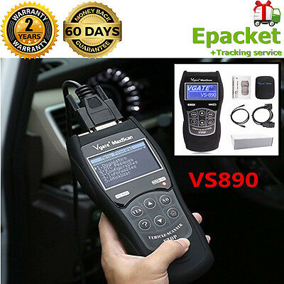 2017 HOT OBD2 Car Fault Code Reader VS890 Diagnostic Scanner Multi-language Tool