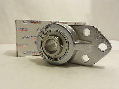 "157831 New In Box, AMI MUCFB204-12NP 3/4 Flange Bearing, 3/4"" ID, 3-Bolt"