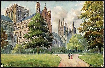 Postcard - Cambridgeshire -  Peterborough Cathedral