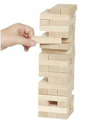 Tumbling Tower, blocking buidling jenga type game includes 54 pieces TY/366