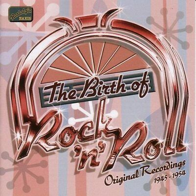 Various Artists-Birth of Rock and Roll, The: Original Recordings 1945 - 1 CD NEW