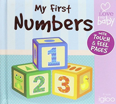 -My First 123  BOOK NEW