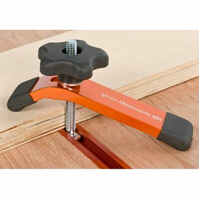 UJK Technology 610mm T-Track & Hold Down Clamp - PACKAGE DEAL