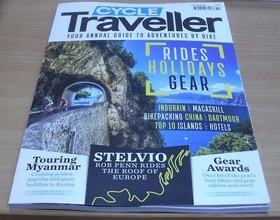 Active Traveller magazine Cycle 2017 Rides Holidays Gear + Burma + Stelvio &more