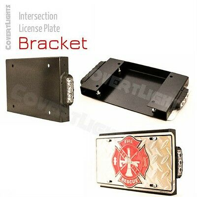 Intersection License Plate Bracket for Feniex Fusion or T3