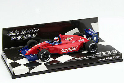 M. Schumacher Ralt Mugen RT23 #6 Japan F3000 1991 1:43 Minichamps