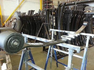 Lowered Ford Transit Single Leaf Springs 07 Onwards 60Mm Wide T260 T280 Pair