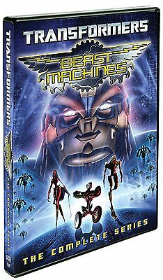 Transformers Beast Machines: The Complete Series (DVD, 4-Disc set) - Brand New!!